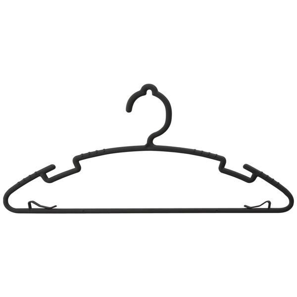 衣類シンプルハンガー40本 レック