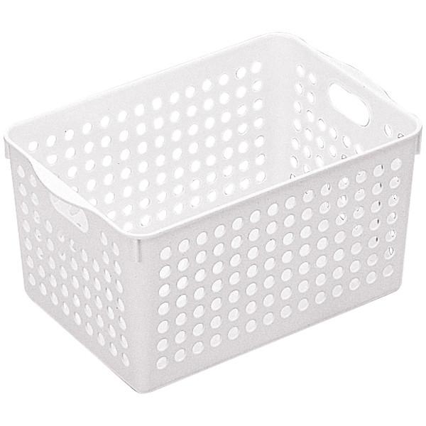 イノマタ化学 ストックバスケット ディープ 4577 1セット(15個:5個入×3袋)