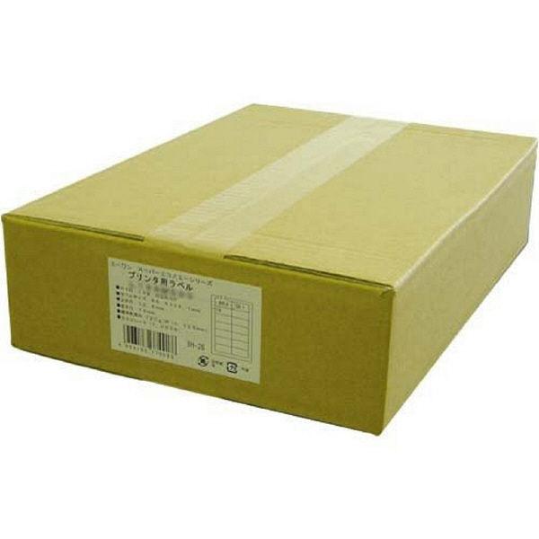 【大容量】 エーワン ラベルシール スーパーエコノミー 表示・宛名ラベル プリンタ兼用 マット紙 白 A4 44面 1箱(500シート入) L44AM500