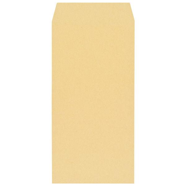 寿堂 FSC認証クラフト封筒 長3 枠なし 300枚(100枚×3パック)