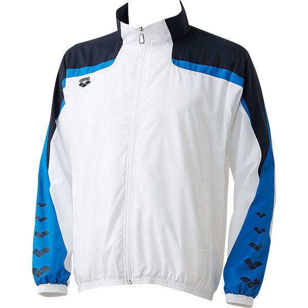 アリーナ ウィンドジャケット XO ホワイト 1着 DS ARN6310 WHT デサント(取寄品)
