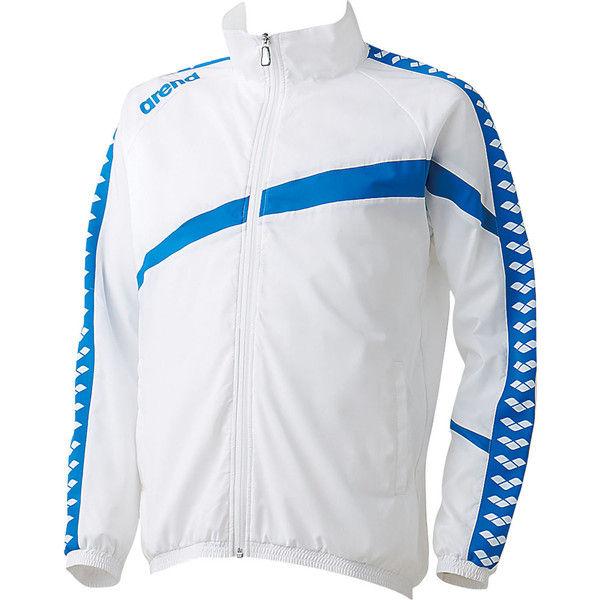 アリーナ ウィンドジャケット M ホワイト 1着 DS ARN6300 WHT デサント(取寄品)