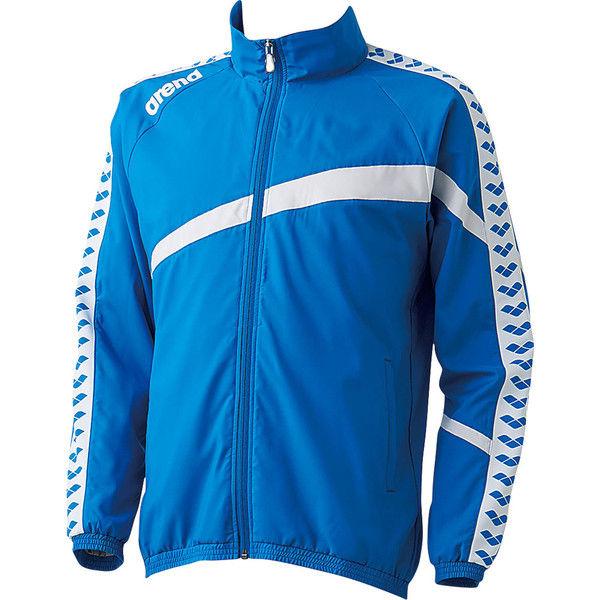 アリーナ ウィンドジャケット L ブルー 1着 DS ARN6300 BLU デサント(取寄品)