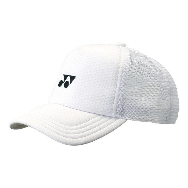 メッシュキャップ  ホワイト 1枚 YY 40007 011 ヨネックス(取寄品)
