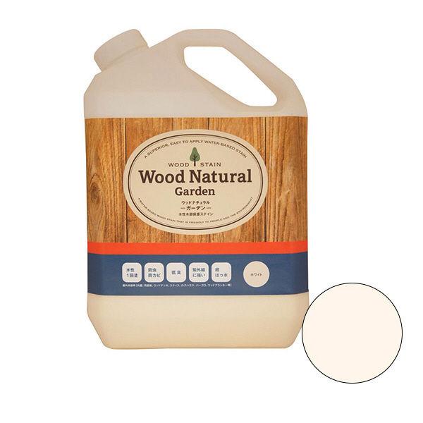 カラーワークス 木部専用保護塗料 Wood Natural ホワイト 3493 3.5kg (直送品)