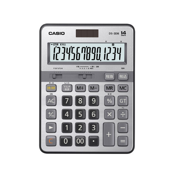 カシオ計算機 本格実務電卓 DS3DT DS-3DB