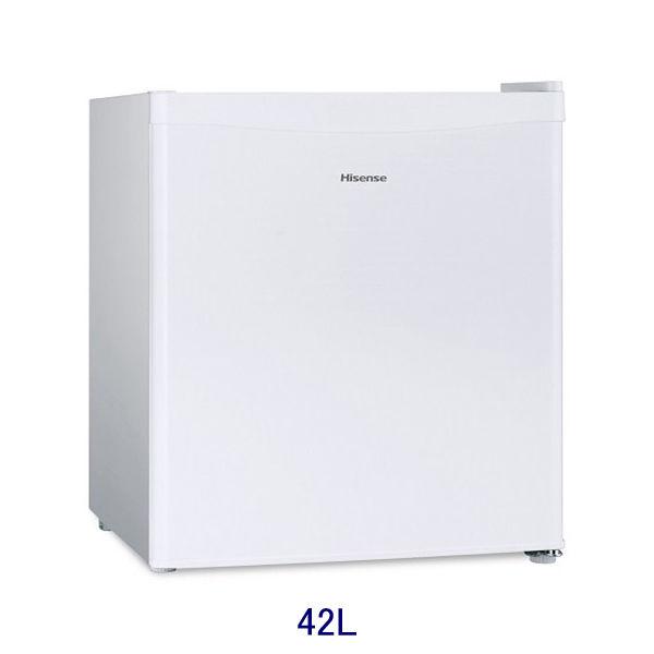 Hisense (ハイセンス) 42L直冷式冷蔵庫 白 HR-A42JW