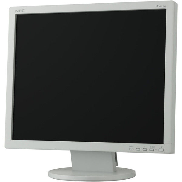 NEC 19型液晶ディスプレイ(白) LCD-AS193MI-W5 1台  (直送品)
