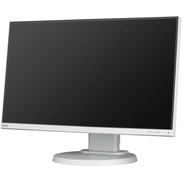 NEC 21.5型3辺狭額縁IPSワイド液晶ディスプレイ(白) LCD-E221N 1台  (直送品)