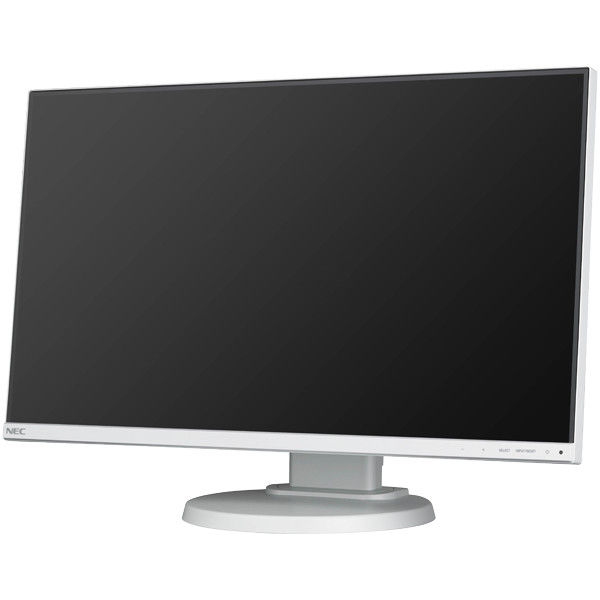 NEC 24型3辺狭額縁IPSワイド液晶ディスプレイ(白) LCD-E241N 1台  (直送品)
