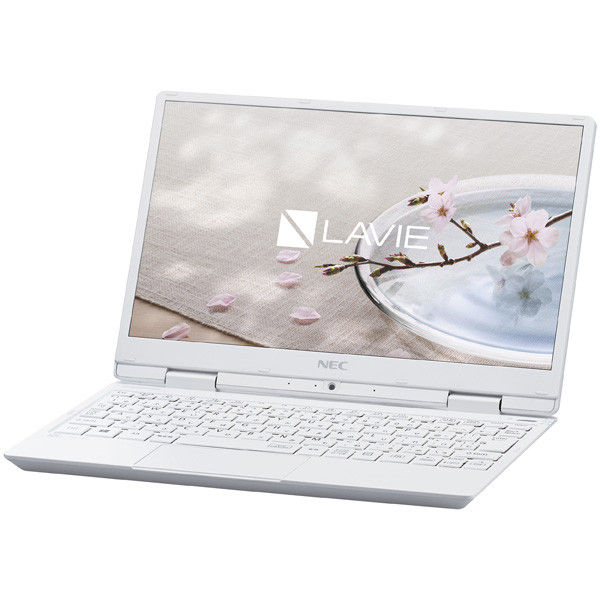 NECパーソナルコンピュータ LAVIE Note Mobile ー NM350/GAW パールホワイト PC-NM350GAW 1台  (直送品)