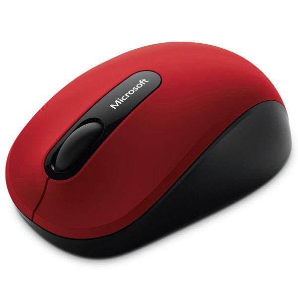 マイクロソフト Bluetooth Mobile Mouse 3600 Dark Red PN7-00017 1本(直送品)