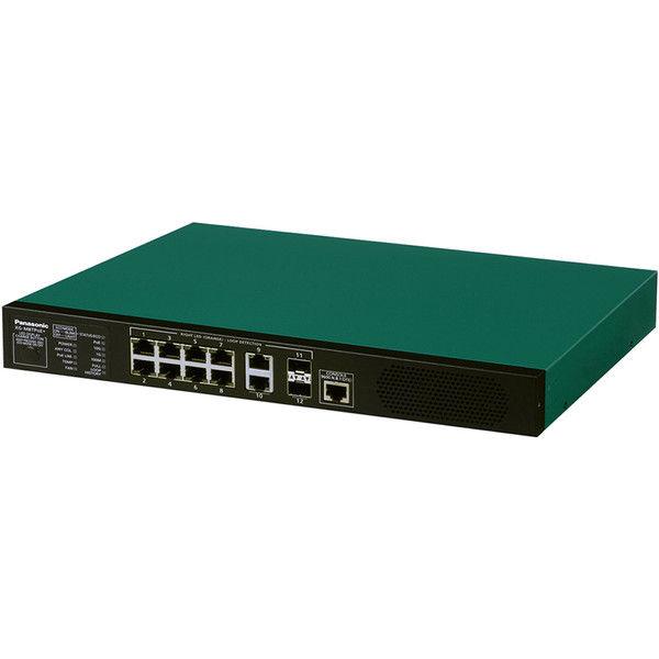 パナソニックESネットワークス PoE対応 8ポートL2スイッチングハブ XGーM8TPoE+ PN83089 1台  (直送品)