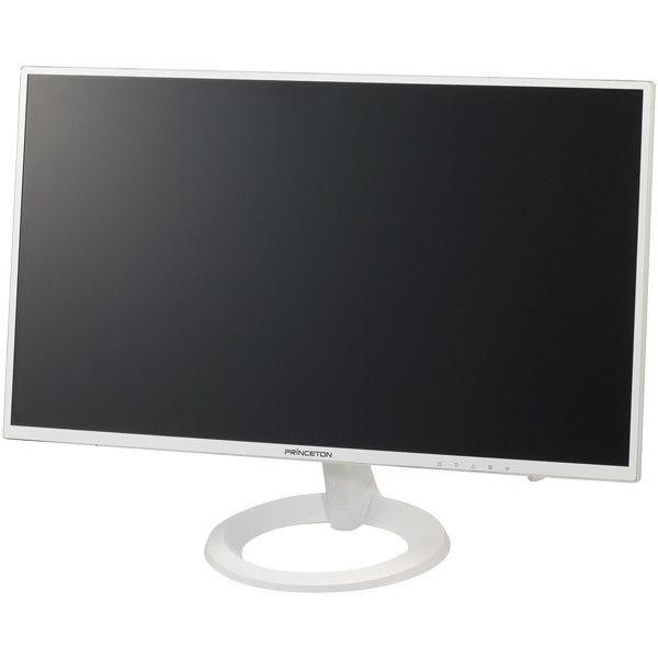 プリンストンテクノロジー ADSパネル採用 白色LEDバックライト 21.5型ワイドカラー液晶ディスプレイ (ホワイト) PTFWJA-22W  (直送品)