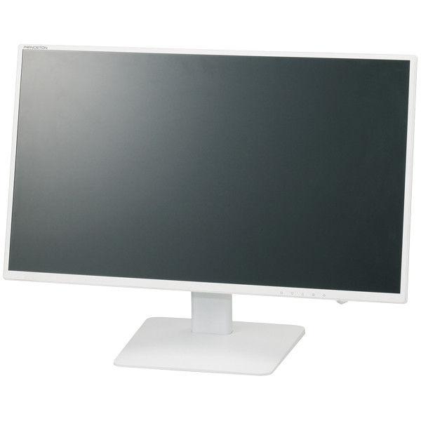 プリンストンテクノロジー 広視野角パネル採用 白色LEDバックライト 23.8型ワイドカラー液晶ディスプレイ (ホワイト) PTFWLT-24W  (直送品)