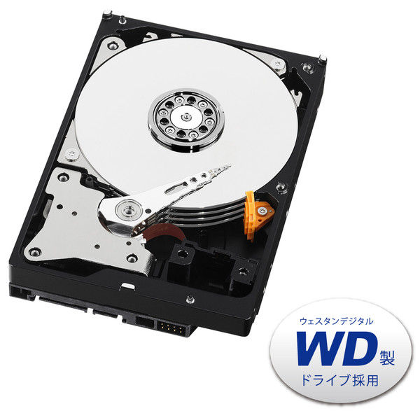 アイ・オー・データ機器 LAN DISK Aシリーズ専用交換用ハードディスク 4TB HDLA-OP4BG 1台  (直送品)