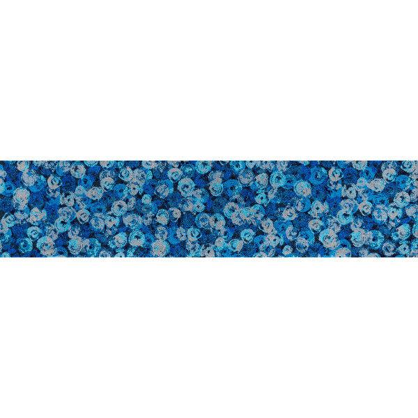洗えるデザインマット PunillaBlue 60 x 260cm K014F クリーンテックス・ジャパン (直送品)