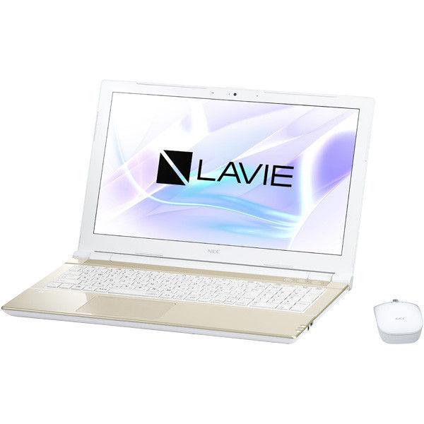 NECパーソナルコンピュータ LAVIE Note Standard ー NS150/HAG シャンパンゴールド PC-NS150HAG 1台  (直送品)