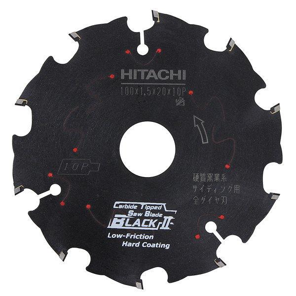 日立工機 スーパーチップソー(全ダイヤ・ブラック2)硬質窯業系サイディング用 00336994 (直送品)