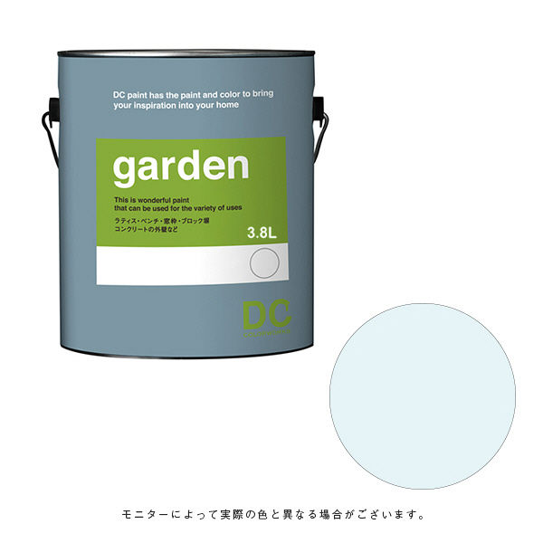カラーワークス 屋外用ペイント DCペイント ガーデン ガロン 0468 3.8L (直送品)