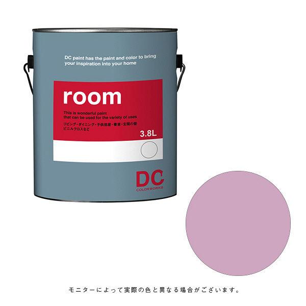 カラーワークス 室内壁用ペイント DCペイント ルーム ガロン 0112 3.8L (直送品)