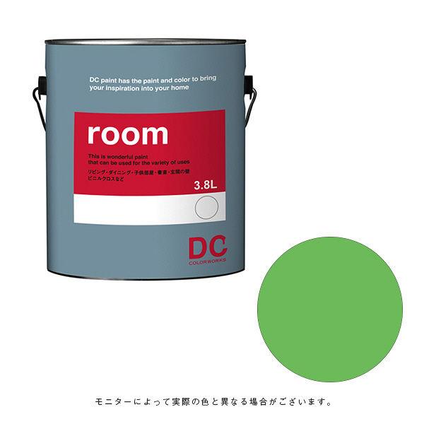 カラーワークス 室内壁用ペイント DCペイント ルーム ガロン 0759 3.8L (直送品)