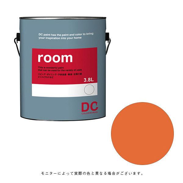 カラーワークス 室内壁用ペイント DCペイント ルーム ガロン 1033 3.8L (直送品)