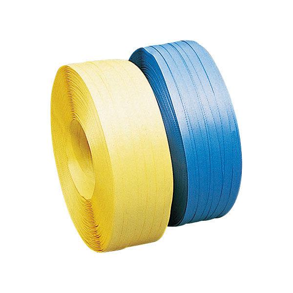 PPバンド ESSタイプ 19mm×1000m 黄 19ESSA 1セット(5巻入) 積水樹脂 (直送品)