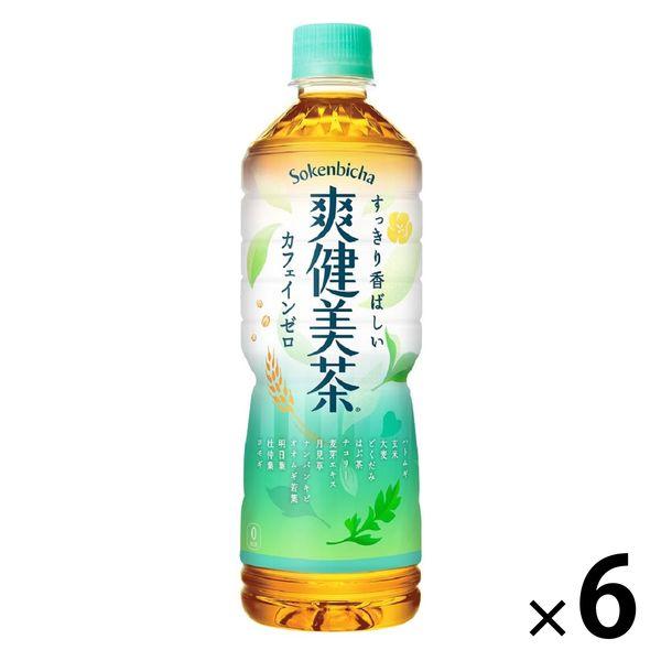 爽健美茶 600ml 6本