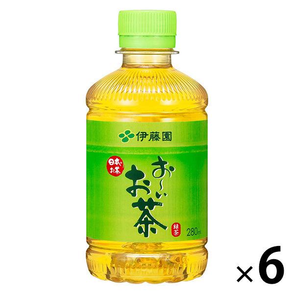 おーいお茶 緑茶 280ml 6本