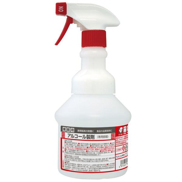 アルコール製剤用 広口ワイド空スプレー スプレータイプ 500mL(空ボトル) SW-986-181-0 1本 ニイタカ