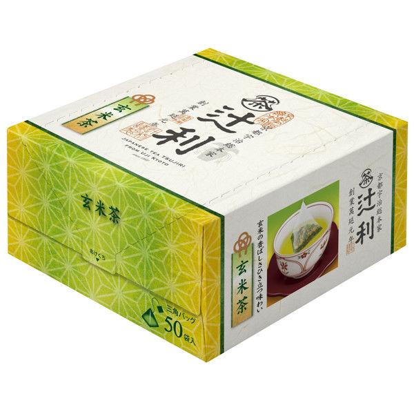 辻利 玄米茶ティーバッグ 1箱