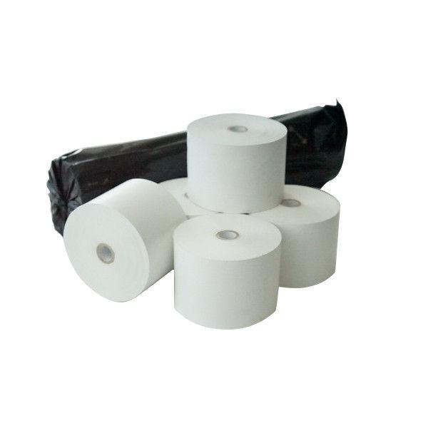 感熱レジ記録紙ノーマル国産75μ 58×80×12 三菱製紙 RRT48Y 1箱(80巻) トッパンフォームズ (取寄品)