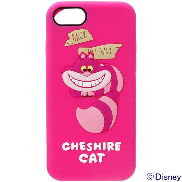 e8cac7aa1d アスクル】PGA iPhone8/7用 シリコンケース チェシャ猫 PG-DCS141CHE ...