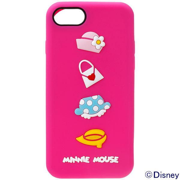 55e9c416a1 アスクル】PGA iPhone8/7用 シリコンケース ミニーマウス PG-DCS144MNE ...