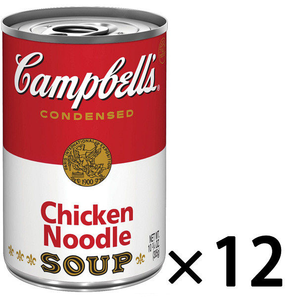 キャンベル チキンヌードル 12缶