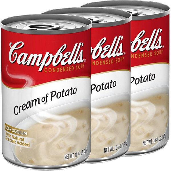 SALEキャンベル クリームポテト 3缶