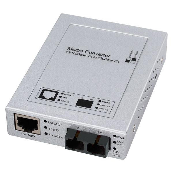 サンワサプライ 光メディアコンバータ LAN-EC202C 1個 (直送品)