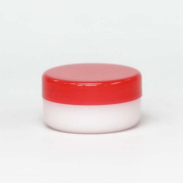 金鵄製作所 深型軟膏容器 5mL 赤 10010-002-400 1セット(400個:50個入×8袋) (直送品)
