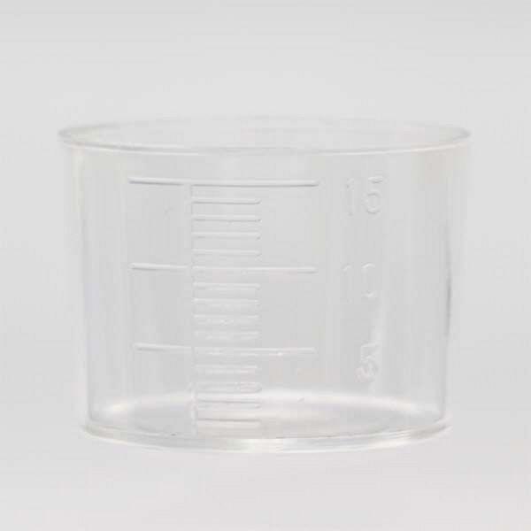 金鵄製作所 計量カップ 15mL 31220-000-600 1セット(600個:200個入×3箱) (直送品)