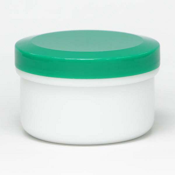 金鵄製作所 アルファ軟膏壺(増量型軟膏容器) 120mL 緑 A0060-004-80 1セット(80個:20個入×4袋) (直送品)