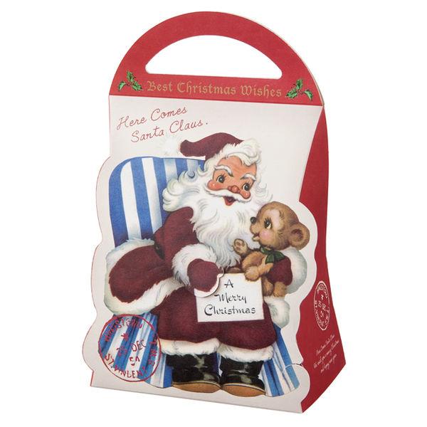 ヘッズ クリスマスアンティークサンタギフトBOXバッグ型-S XAQ-GBS 1ケース(20枚×10パック:200枚)(直送品)