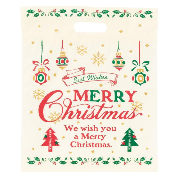 ヘッズ クラシカルクリスマスPEバッグ-3 XCL-3 1ケース(100枚×15パック:1500枚)(直送品)