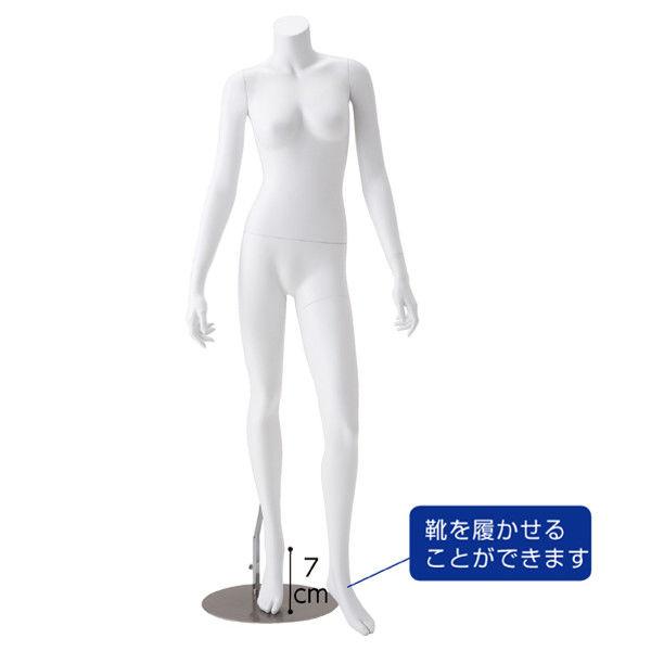 アスクル】店研創意 婦人リアルマネキン 左足前 9号 8007-3102(直送品 ...