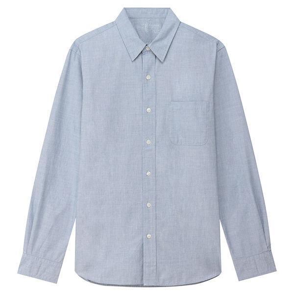 無印良品のリネンシャツ 。ユニクロの2,990円(期間限定時は1,990円!)に比べると3,990円と高めです。ユニクロに比べるとあまりセールも行いません。