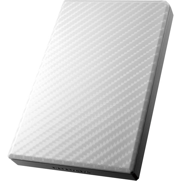 アイ・オー・データ機器 USB3.0/2.0対応ポータブルハードディスク「高速カクうす」 セラミックホワイト 1TB HDPT-UT1W 1台  (直送品)