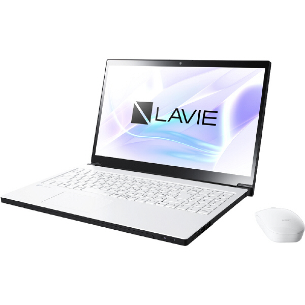 NECパーソナルコンピュータ LAVIE Note NEXT ー NX850/JAW グレイスホワイト PC-NX850JAW 1台  (直送品)