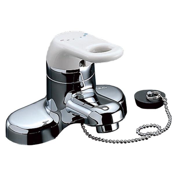 LIXIL シングルレバー洗面水栓 RLF-402 (直送品)