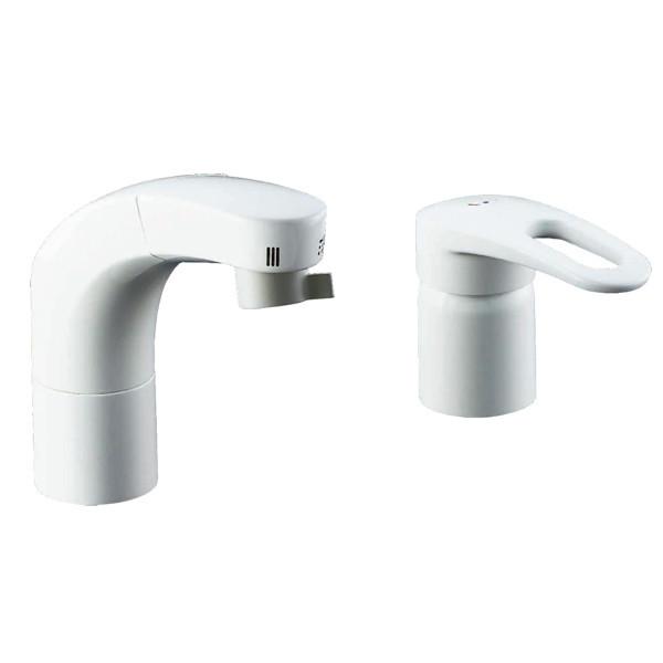 LIXIL 化粧台向けホース引出洗髪シャワー水栓 RLF-681YN (直送品)