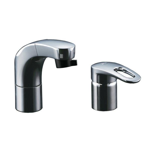 LIXIL 化粧台向けホース引出洗髪シャワー水栓 RLF-682YN (直送品)